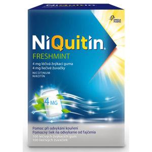 NIQUITIN Freshmint 4 mg 100 ks žvýkací guma