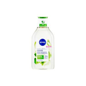 NIVEA Naturally Good Micelární voda pro všechny typy pleti 400 ml