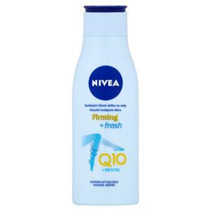 NIVEA Q10 Osvěžující tělové mléko na nohy 200 ml