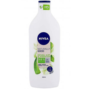 NIVEA Tělové mléko Naturally Good Aloe 350 ml