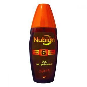 NUBIAN F6 olej na opalování, spray 150ml