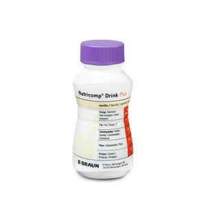 NUTRICOMP Drink Plus vanilka 200 ml 4 kusy