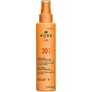 NUXE SUN spray na opalování SPF 20 obličej a tělo 150 ml
