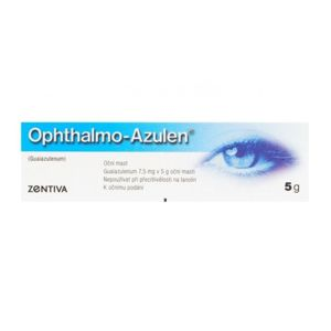 OPHTHALMO-AZULEN UNG OPH 1X5GM/7.5MG