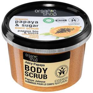ORGANIC SHOP Tělový peeling Šťavnatá papája 250 ml