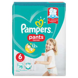 PAMPERS Pants vel.6 VPP 15+kg Kalhotkové plenky 38 ks