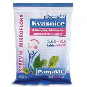PARGAVIT Pivovarské kvasnice Bifi Aktiv 250 tablet