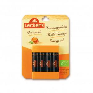 LECKER´S Pomerančové aroma BIO 4 x 2 ml