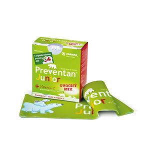 PREVENTAN Junior ovocný mix 90 tablet zimní edice s dárkem