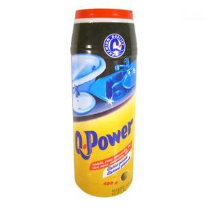 Q POWER Čistící písek Citron 400 g