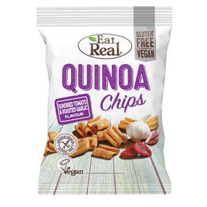 EAT REAL Quinoa Chips rajče a česnek 30 g