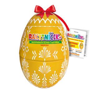 TEREZIA Rakytníček želatinky Velikonoční vejce žluté 50 ks