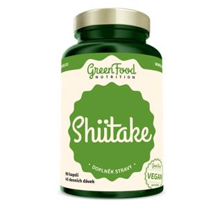 GREENFOOD NUTRITION Shiitake 90 kapslí