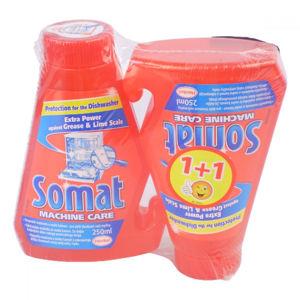 SOMAT duopack 2 x čistič myčky, poškozený obal