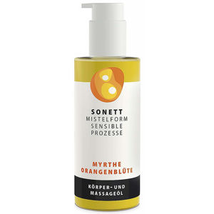 SONETT Mistelform tělový a masážní olej myrta a pomerančový květ 145 ml