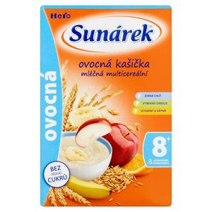 SUNÁREK Ovocná kašička mléčná 225 g
