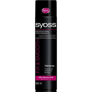 SYOSS Lak na vlasy Shine&Hold 300 ml