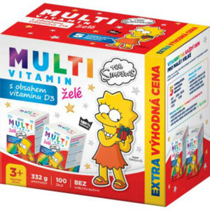 REVITAL The Simpsons Multivitamin 2 x 50 želé