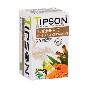TIPSON Turmeric Vanilla & Cinnamon 25 sáčků BIO