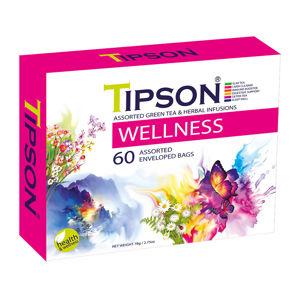 TIPSON Wellness Assorted bylinné čaje 60 sáčků