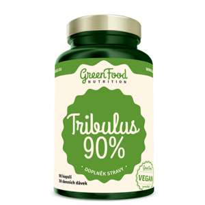 GREENFOOD NUTRITION Tribulus 90% 90 kapslí