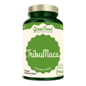 GREENFOOD NUTRITION TribuMaca 90 kapslí