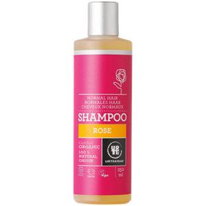 URTEKRAM BIO Růžový šampon pro normální vlasy 250 ml