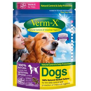 Verm-X Přírodní pelety proti střevním parazitům pro psy 200 g
