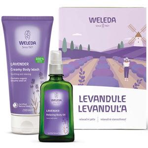 WELEDA Levandulová relaxační péče Dárkové balení