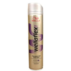 WELLAFLEX Lak s leskem na jemné vlasy 250 ml