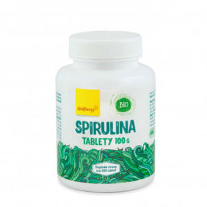 WOLBERRY Spirulina BIO 200 tablet