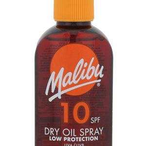 MALIBU Dry Oil Spray SPF10 Opalovací přípravek na tělo 100 ml