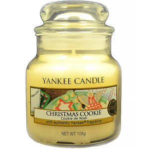 YANKEE CANDLE Christmas Cookie Classic malý 104 g