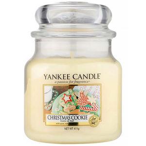 YANKEE CANDLE Classic střední Christmas Cookie vonná svíčka 411 g
