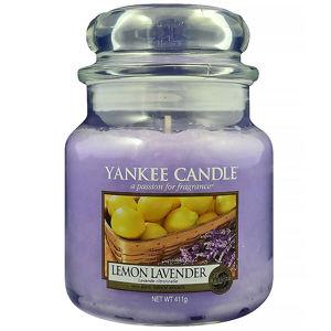 YANKEE CANDLE Classic Lemon Lavender střední 411 g