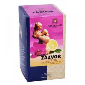 SONNENTOR Zázvor - citron porcovaný čaj BIO 20 sáčků